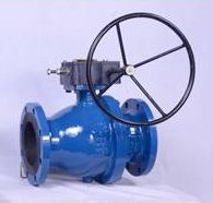 Equipment supply ball valve