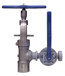 Variable tandem blowdown valve